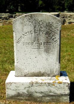 Horatio G Webster