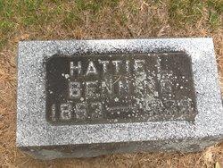 Hattie L Benning