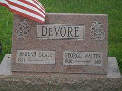 George Walter DeVore