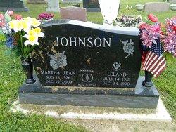 Martha Jean <i>Morris</i> Johnson