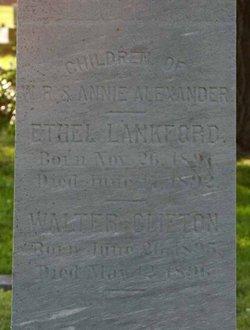 Walter Clifton Alexander