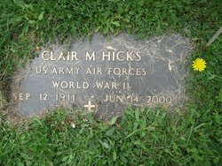 Clair Merton Quack Hicks