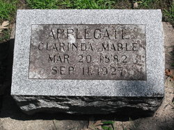 Clarinda Mabel <i>Chesley</i> Applegate