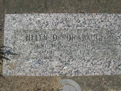 Helen Delight <i>Miller</i> Rorabaugh
