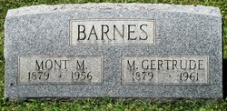 Mary Gertrude <i>Miles</i> Barnes