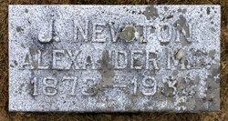 Dr James Newton Alexander
