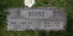 Zenas Jerry Slim Boone