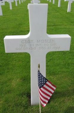 Pvt Cecil Mobley