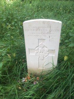 Private Arthur Elija Green