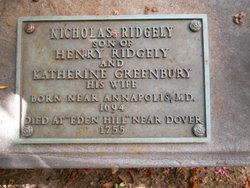 Col Nicholas Greenberry Ridgely