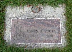 Agnes H Scott