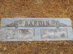 Millie Ann <i>Mullins</i> Bardin