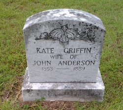 Sarah Catherine Kate <i>Griffin</i> Anderson
