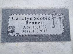 Carolyn <i>Scobie</i> Bennett