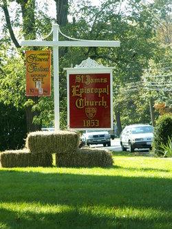 Saint James Episcopal Church Graveyard