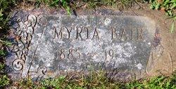 Myrta Bair