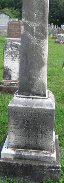 Henrietta <i>Wehrly</i> Keller