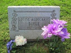 Louise E. <i>Aldegarie</i> Boele