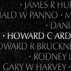 Sgt Howard Carlton Ard, Jr