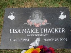 Lisa Marie <i>Dire</i> Thacker
