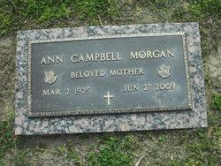 Ann Marie <i>Campbell</i> Morgan