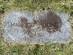 Corp Maurice W. Jones