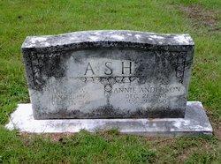 Martha Annie <i>Anderson</i> Ash