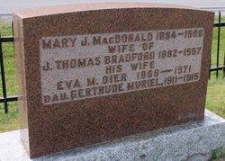 Eva M <i>Dier</i> Bradford