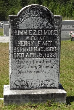 Hummie Z <i>Elmore</i> Fant