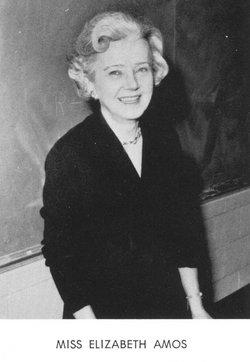 Ruth Elizabeth Amos
