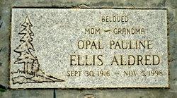 Opal Pauline <i>Ellis</i> Aldred