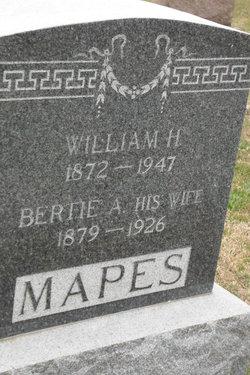 Bertie A. Mapes