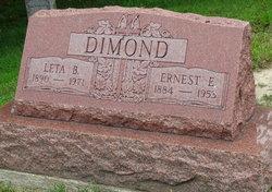 Ernest E Dimond