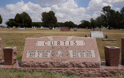 Rev John Wilburn Curtis, Sr