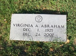 Virginia <i>Walls</i> Abraham