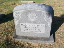 Margaret Ellen Maggie <i>Brown</i> Andrews
