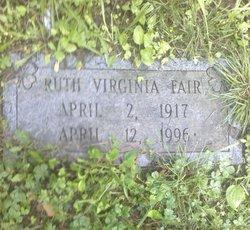 Ruth Virginia Fair