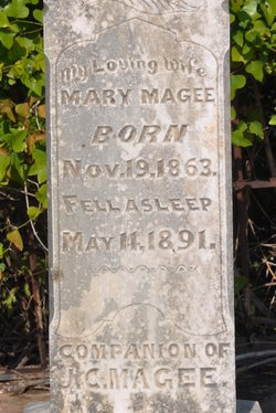 Mary <i>Cooke</i> Magee