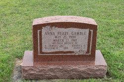 Anna Pearl Gamble