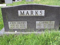 Carrie Price <i>Rankin</i> Marks