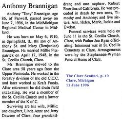 Anthony Tony Brannigan