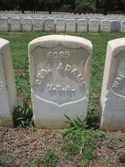 Pvt George Adams