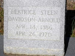 Beatrice <i>Steen</i> Arnold