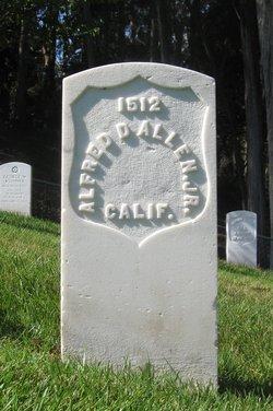 Pvt Alfred D Allen, Jr