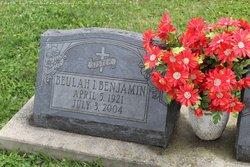 Beulah Irene <i>Buckner</i> Benjamin