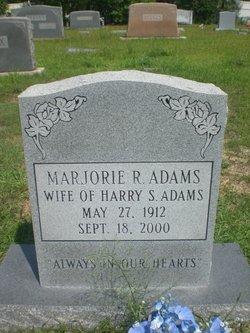 Marjorie R Adams