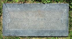 Franklin Earl Handley