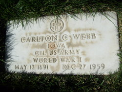 Carlton Claud Webb