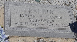 Evelyn M. <i>Rankin</i> Schwoerer
