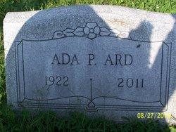 Ada Pearl <i>Staples</i> Ard